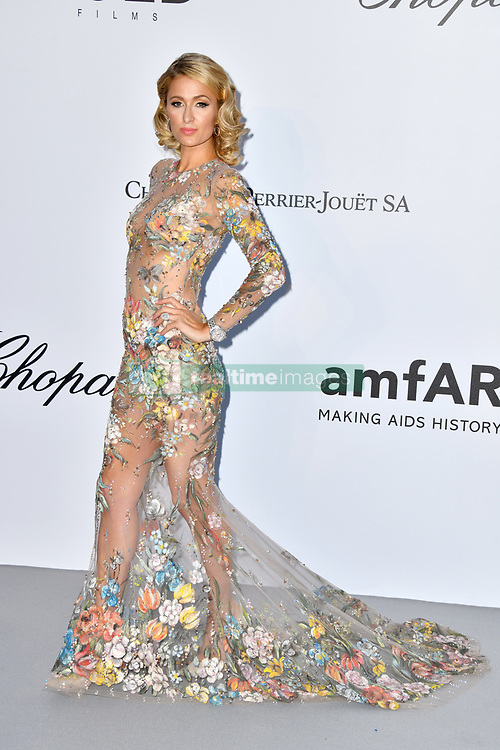 Paris Hilton attends the 2018 amfAR Gala on May 17, 2018 in Cap D'Antibes, France. Photo by Lionel Hahn/ABACAPRESS.COM