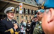 DEN HAAG - Koning Willem-Alexander en minister-president Rutte wonen zaterdag 27 juni 2015 in Den Haag de 11e Nederlandse Veteranendag bij. COPYRIGHT ROBIN UTRECHT/ FREEK VAN DEN BERGH<br /> THE HAGUE - King Willem-Alexander and Prime Minister Rutte attend  Saturday, June 27th, 2015 in The Hague Dutch Veterans day  veteransday . COPYRIGHT ROBIN UTRECHT/ FREEK VAN DEN BERGH