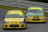 #33 Patrick Booth MG ZR 170 during the The John Woods Motorcars MG Trophy Championship at Oulton Park, Little Budworth, Cheshire, United Kingdom. September 03 2016. World Copyright Peter Taylor/PSP.