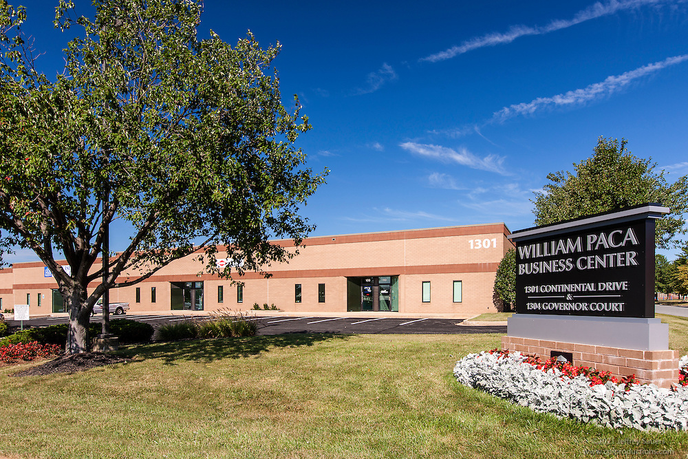 Exterior image of William Paca Business Center in Abingdon MD by Jeffrey Sauers of Commercial Photographics, Architectural Photo Artistry in Washington DC, Virginia to Florida and PA to New England