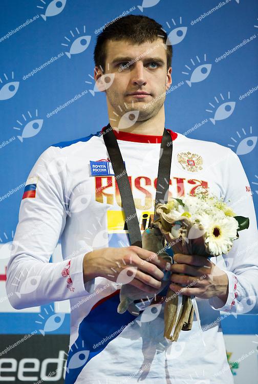 DONETS Stanislav RUS  Bronze Medal.Men 50m Backstroke.FINA World Short Course Swimming Championships.Istanbul Turkey 12 - 16 Dec. 2012.Day 04.Photo G.Scala/Deepbluemedia/Inside