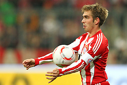 26.10.2010, Allianz Arena, Muenchen, GER, DFB Pokal, FC Bayern Muenchen vs SV Werder Bremen, im Bild  Philipp Lahm (Bayern #21) , EXPA Pictures © 2010, PhotoCredit: EXPA/ nph/  Straubmeier+++++ ATTENTION - OUT OF GER +++++