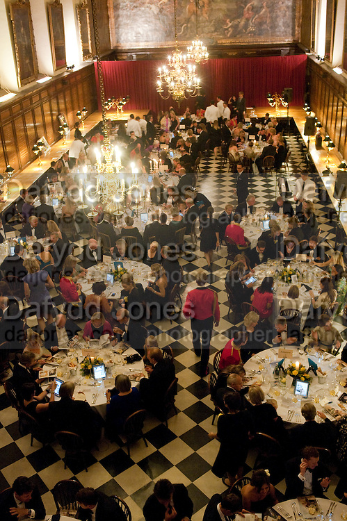 Charity Dinner in aid of Caring for Courage The Royal Scots Dragoon Guards Afganistan Welfare Appeal. In the presence of the Duke of Kent. The Royal Hospital, Chaelsea. London. 20 October 2011. <br /> <br />  , -DO NOT ARCHIVE-© Copyright Photograph by Dafydd Jones. 248 Clapham Rd. London SW9 0PZ. Tel 0207 820 0771. www.dafjones.com.