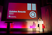 Sarah Butler-Sloss, Founder Director of the Ashden Awards speaking at the 2011 ceremony