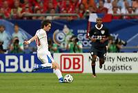 Photo: Chris Ratcliffe.<br /> USA v Czech Republic. Group E, FIFA World Cup 2006. 12/06/2006.<br /> Tomas Rosicky of Czech Republic scoring the second Czech Republic goal.