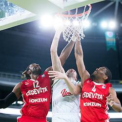 20160207: SLO, Basketball - ABA League 2015/16, KK Union Olimpija vs Cedevita Zagreb
