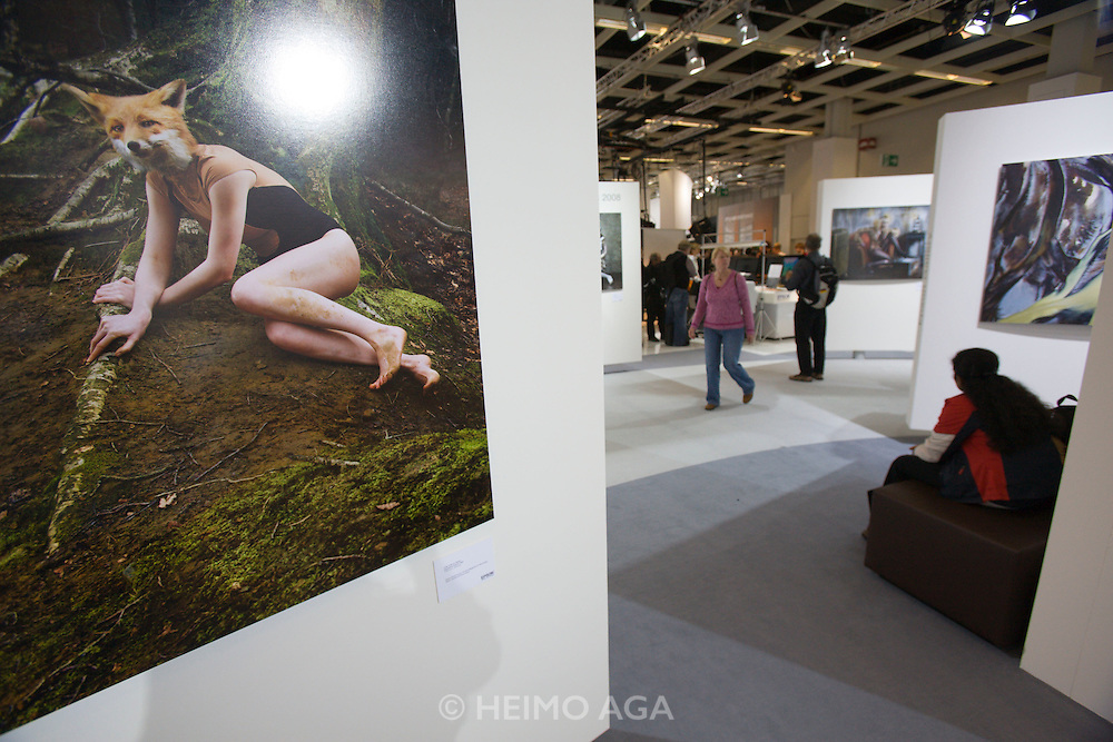 Photokina 2008, World's bigest bi-annual photo fair. Hasselblad Masters exhibition.