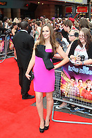 Hannah Tointon The Inbetweeners Movie world premiere, Vue Cinema, Leicester Square, London, UK, 16 August 2011:  Contact: Rich@Piqtured.com +44(0)7941 079620 (Picture by Richard Goldschmidt)
