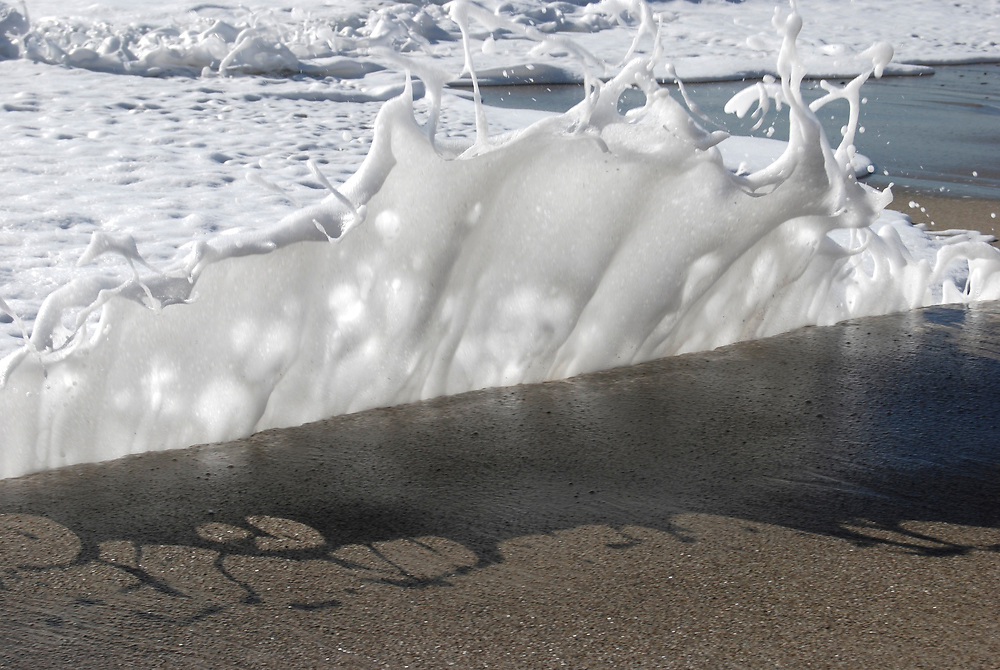 Foam Wave on the beach