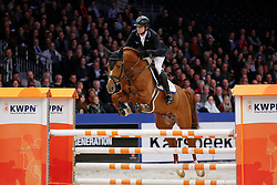 Keunen Pieter (NED) - Entertainer<br /> KWPN Stallion Selection - 's Hertogenbosch 2014<br /> © Dirk Caremans