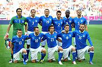 """ITALIA (Italia)<br /> Danzica 10/06/2012  """"GDANSK ARENA""""<br /> Football calcio Europeo 2012  Spagna Vs Italia <br /> Football Calcio Euro 2012<br /> Foto Insidefoto Alessandro Sabattini"""