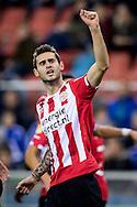 ARNHEM, Vitesse - PSV, voetbal, Eredivisie, seizoen 2016-2017, 29-10--2016, Stadion De Gelredome, PSV speler Gaston Pereiro heeft de 0-1 gescoord.