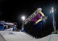 Chloe Kim at the Winter X Games in Aspen, Colorado.