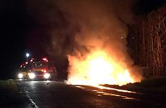 Tauranga-Car fire on Kairua Road treated as suspicious