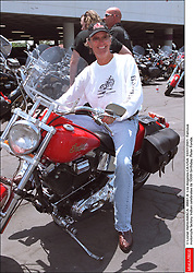 File photo - © Lionel Hahn/ABACA. 26941-8. Los Angeles-CA-USA. 03/07/2001. Famous motorcyle factory Indian celebrates its 100th birthday. Peter Fonda. Peter Fonda, the star, co-writer and producer of the 1969 cult classic Easy Rider, has died at the age of 79. Peter Fonda was part of a veteran Hollywood family. As well as being the brother of Jane Fonda, he was also the son of actor Henry Fonda, and father to Bridget, also an actor.