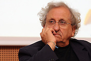 Abraham Yehoshua, israeli writer, at Milanesiana, literary music and movie festival, in Milan, July 1, 2008.