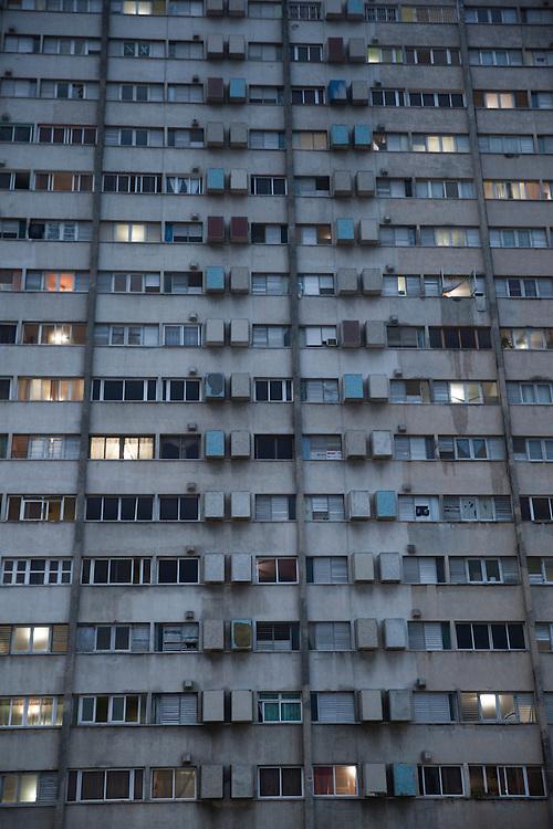 Residential building in Havana, Cuba.