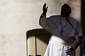 Pope Francis general audience in St Peter Square