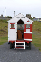 Tractor led guided tour on Inis Oirr on the Aran Islands Galway Ireland