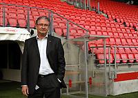 Fotball<br /> Tippeligaen<br /> 19.10.2009<br /> Pressekonferanse ang. økonomien<br /> Brann stadion<br /> Daglig leder i Brann , Bjørn Dahl<br /> Foto : Astrid M. Nordhaug