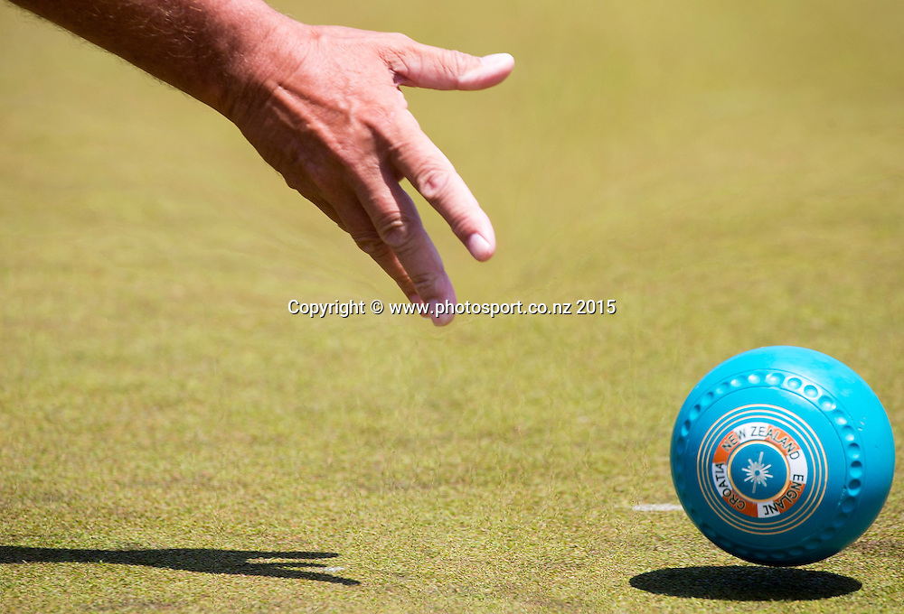 National Open Bowls Championship 2014, Browns Bay Auckland, New Zealand, Sunday, January 04, 2015. Photo: David Rowland/www.photosport.co.nz