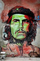 Ernesto Che Guevara street artwork