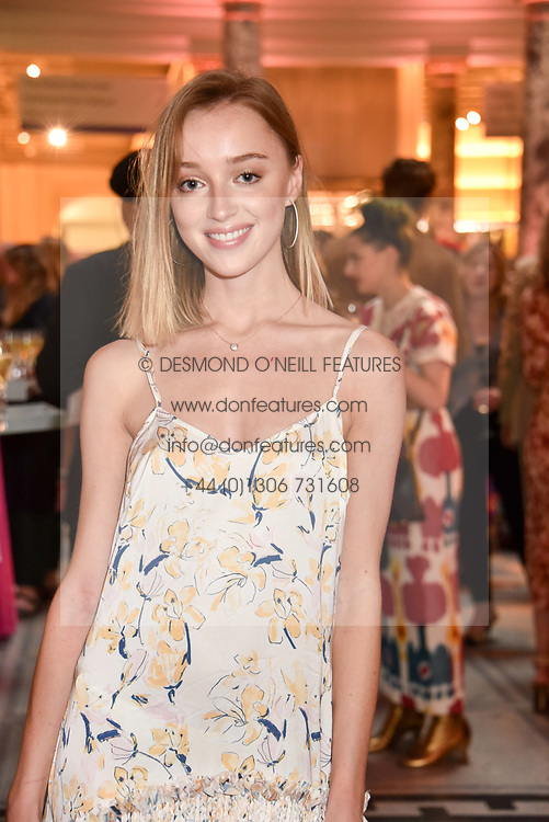 """Phoebe Dynevor at the opening of """"Frida Kahlo: Making Her Self Up"""" Exhibition at the V&A Museum, London England. 13 June 2018."""