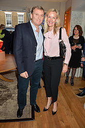 MARC & EMMA FARAH at a party to celebrate the 30th anniversary of Linley held at Linley, 60 Pimlico Road, London on 3rd May 2016.