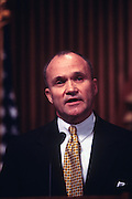 WASHINGTON, DC - September 24: Head of Secret Service Ray Kelly  discussing Drug King Pin Romon Arellano Felix in Washington, DC. September 24, 1997  (Photo RIchard Ellis)