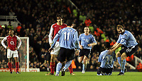 4/1/2005 - FA Barclays Premiership - Arsenal v Manchester City - Highbury<br /> Manchester Citys Shaun Wright-Phillips after he scored the opening goal from a long range shot<br /> Photo: r/Digitalsport