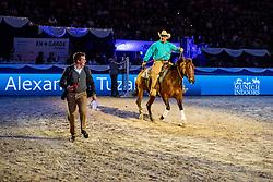 TUZAKOV Alexander, PETIT Arnaud<br /> München - Munich Indoors 2018<br /> Showabend - Die Nacht der WM Helden<br /> Westernshow<br /> 24. November 2018<br /> © www.sportfotos-lafrentz.de/Stefan Lafrentz