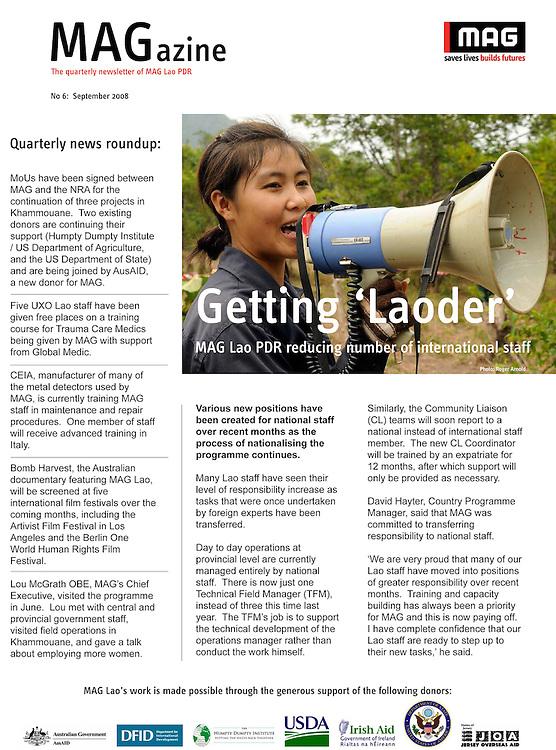 Mines Advisory Group Magazine - Womens Demining Team