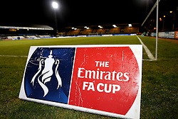 The Cambs Glass Stadium ahead of the Emirates FA Cup Third Round fixture between Cambridge United and Leeds United - Mandatory by-line: Robbie Stephenson/JMP - 09/01/2017 - FOOTBALL - Cambs Glass Stadium - Cambridge, England - Cambridge United v Leeds United - FA Cup third round