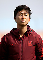 International Women's Friendly Matchs 2019 / <br /> Womens's Algarve Cup Tournament 2019 - <br /> Denmark v China 1-0 ( Complexo Desportivo - Vila Real Santo Antonio,Portugal ) - <br /> BI XIAOLIN of China