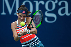August 28, 2018 - Flushing Meadow, NY, U.S. - FLUSHING MEADOW, NY - AUGUST 28: NICOLE GIBBS (USA) day two of the 2018 US Open on August 28, 2018, at Billie Jean King National Tennis Center in Flushing Meadow, NY. (Photo by Chaz Niell/Icon Sportswire) (Credit Image: © Chaz Niell/Icon SMI via ZUMA Press)