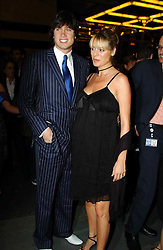 TV presenters VERNON KAY and TESS DALY at the opening night of the musical Murderous Instincts at The Savoy Theatre, London on 7th October 2004.<br /><br />NON EXCLUSIVE - WORLD RIGHTS