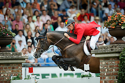 Ahlmann Christian, (GER), Taloubet Z<br /> Individual Final Competition round 2<br /> FEI European Championships - Aachen 2015<br /> © Hippo Foto - Dirk Caremans<br /> 23/08/15