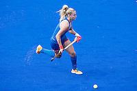 RIO DE JANEIRO (Brazilie) - De dames  van Oranje trainen vanmiddag in het Olympische hockeystadion . Laurien Leurink.   COPYRIGHT KOEN SUYK