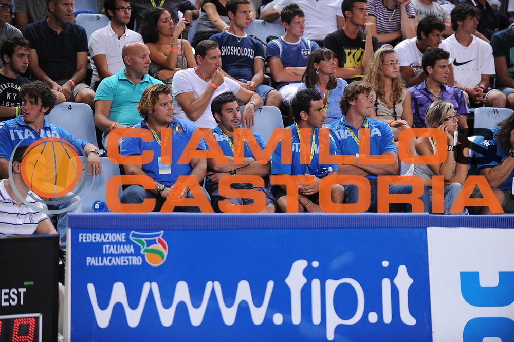 DESCRIZIONE : Rimini Trofeo Tassoni Italia Grecia Italy Greece<br /> GIOCATORE : Nazionale Italiana Rugby<br /> CATEGORIA : <br /> SQUADRA : Nazionale Italia Uomini <br /> EVENTO : Trofeo Tassoni<br /> GARA : Italia Grecia Italy Greece<br /> DATA : 14/08/2011<br /> SPORT : Pallacanestro<br /> AUTORE : Agenzia Ciamillo-Castoria/M.Marchi<br /> Galleria : Fip Nazionali 2011 <br /> Fotonotizia : Rimini Trofeo Tassoni Italia Grecia Italy Greece<br /> Predefinita :
