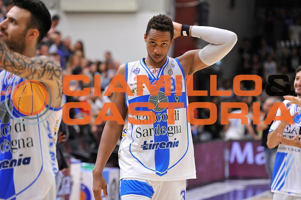 DESCRIZIONE : Campionato 2014/15 Dinamo Banco di Sardegna Sassari - Dolomiti Energia Aquila Trento Playoff Quarti di Finale Gara4<br /> GIOCATORE : Kenneth Kadji<br /> CATEGORIA : Postgame Ritratto Esultanza Ritratto<br /> SQUADRA : Dinamo Banco di Sardegna Sassari<br /> EVENTO : LegaBasket Serie A Beko 2014/2015 Playoff Quarti di Finale Gara4<br /> GARA : Dinamo Banco di Sardegna Sassari - Dolomiti Energia Aquila Trento Gara4<br /> DATA : 24/05/2015<br /> SPORT : Pallacanestro <br /> AUTORE : Agenzia Ciamillo-Castoria/C.AtzoriAUTORE : Agenzia Ciamillo-Castoria/C.Atzori