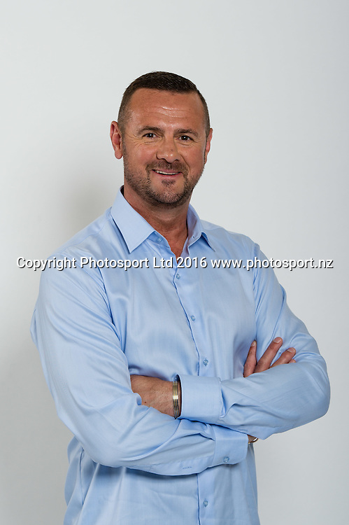 Simon Doull. Sky Presenters headshots. Christchurch, New Zealand, 16th November 2016. © Copyright Photo: John Davidson / www.photosport.nz