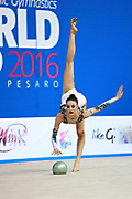 Halford Laura is a British rhythmic gymnast was born 25 February 1996. She took up the sport at age six. She is a four-time senior British champion.