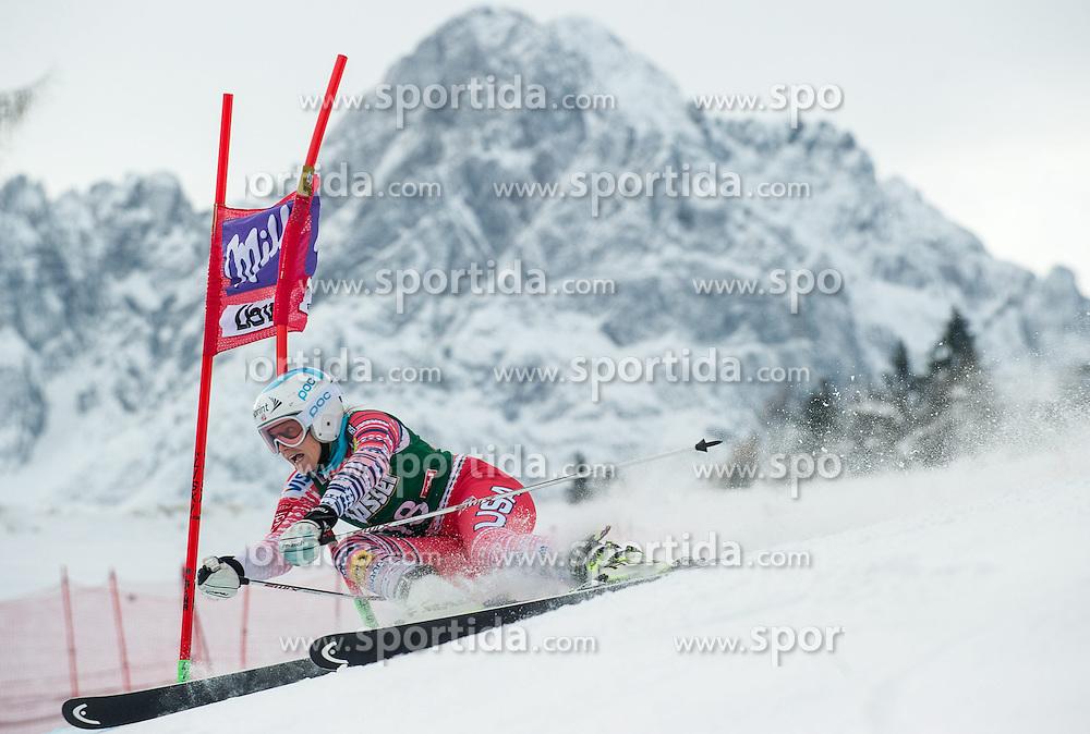 28.12.2013, Hochstein, Lienz, AUT, FIS Weltcup Ski Alpin, Lienz, Riesentorlauf, Damen, 1. Durchgang, im Bild Julia Mancuso (USA) // during the 1st run of ladies giant slalom Lienz FIS Ski Alpine World Cup at Hochstein in Lienz, Austria on 2013-12-28, EXPA Pictures © 2013 PhotoCredit: EXPA/ Michael Gruber