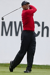 September 10, 2018 - Newtown Square, Pennsylvania, United States - Tiger Woods tees off the 18th hole during the final round of the 2018 BMW Championship. (Credit Image: © Debby Wong/ZUMA Wire)