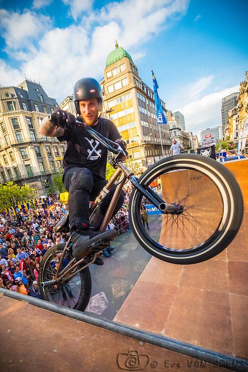 Zot Day 2016 - Dimanche sans voiture à Bruxelles. Jimmy VAN BELLE