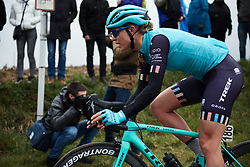 Tayler Wiles (USA) at Ronde van Vlaanderen - Elite Women 2018 a 151.9 km road race starting and finishing in Oudenaarde, Belgium on April 1, 2018. Photo by Sean Robinson/Velofocus.com