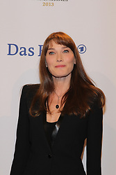 "Carla Bruni (wife of Nicolas Sarkozy), German ""Echo"" music award in Messegelaende, Berlin, Germany, 21, March 2013. Photo by Elliott Franks / i-Images..."