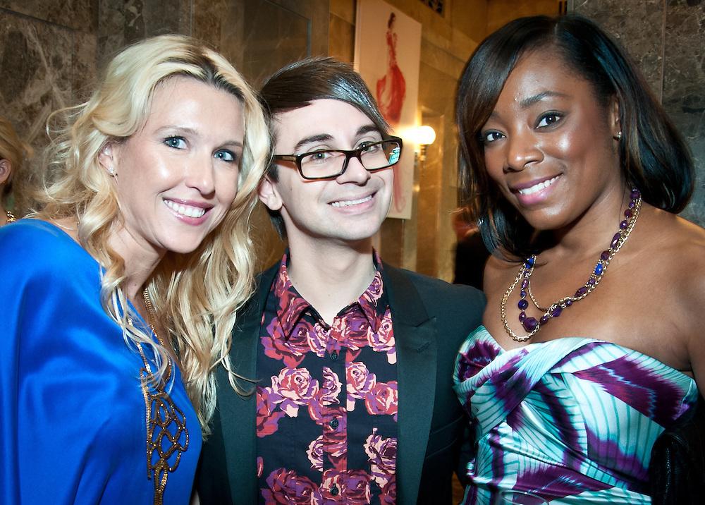 Courtney Hood, Christian Siriano, Monkisha Fitchpatric