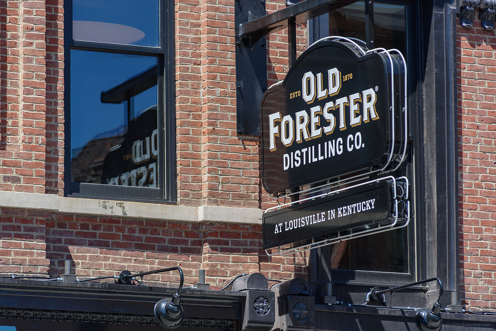 The Old Forester Distilling Company at 119 W. Main Street on Whisky Row in Louisville, Ky. June 6, 2018