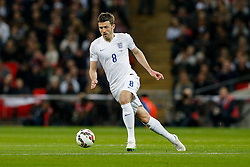 Michael Carrick of England (Manchester United) in action - Photo mandatory by-line: Rogan Thomson/JMP - 07966 386802 - 27/03/2015 - SPORT - FOOTBALL - London, England - Wembley Stadium - England v Lithuania UEFA Euro 2016 Qualifier.